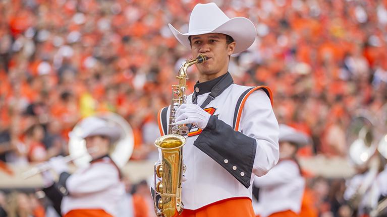 Cowboy Marching Band Masthead 3