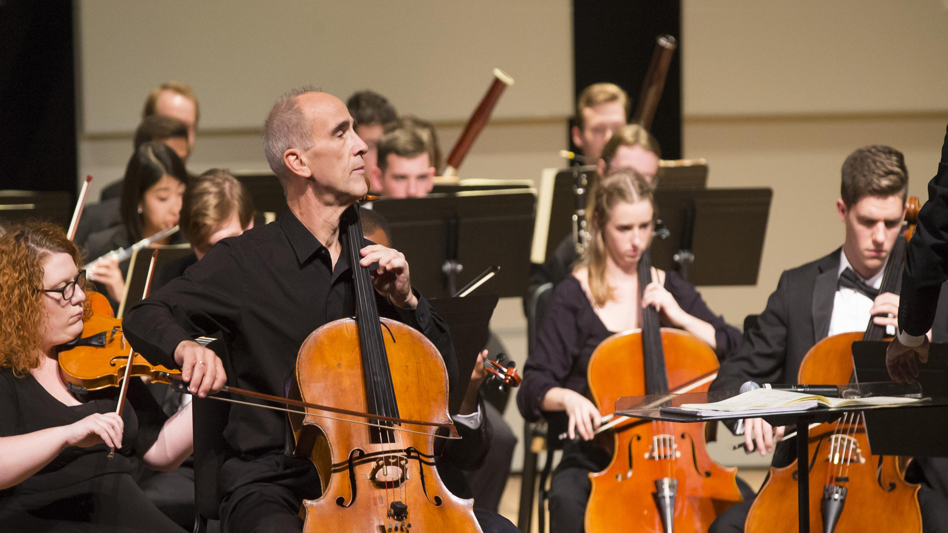 New York Philharmonic principal cellist plays at OSU
