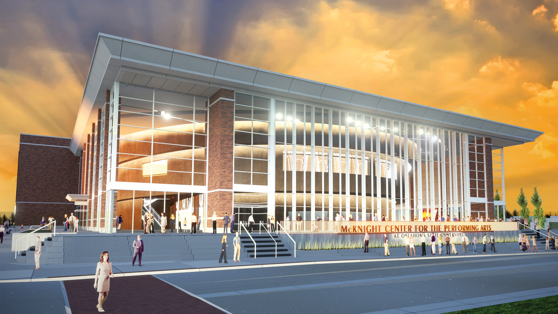 OSU Announces New Performing Arts Center