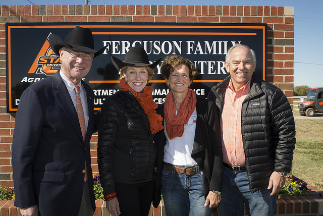 Ferguson Family and the Hargis's
