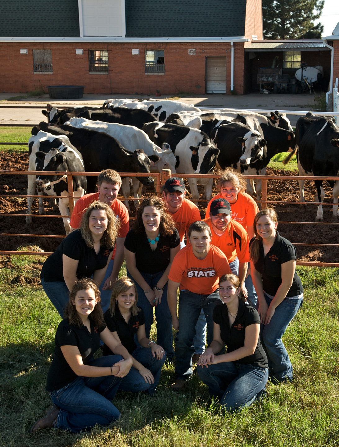 Dairy Students